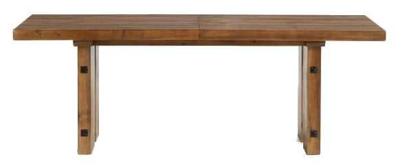 North Reclaimed Wood Extending Dining Table - Pottery Barn