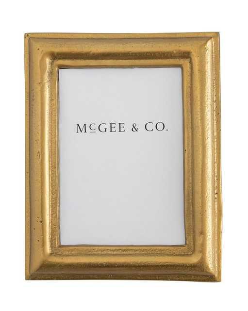 ALUMINUM GOLD FRAME - McGee & Co.