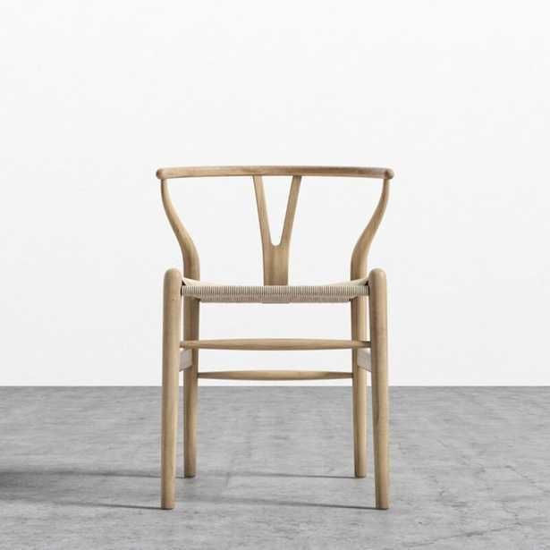 Gunnur Solid Wood Wishbone Stacking Side Chair - Wayfair