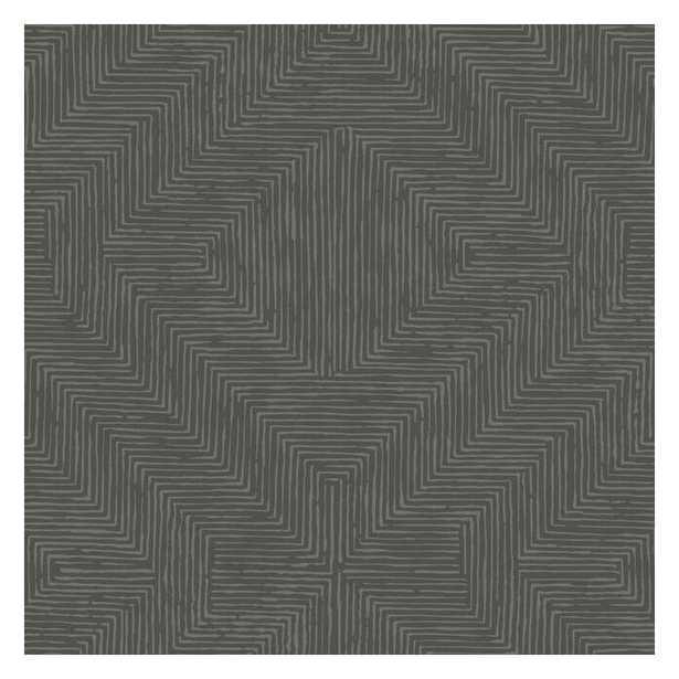 Diamond Channel Sure Strip Wallpaper - York Wallcoverings