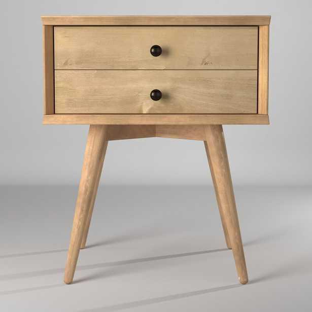 Grady 2 - Drawer Solid Wood Nightstand - Wayfair