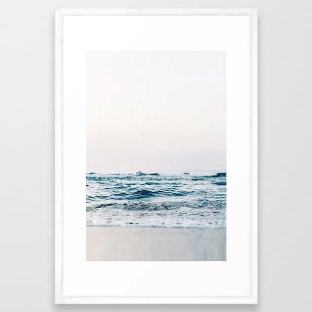 Ocean Wave Framed Art Print - Society6