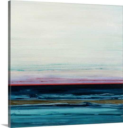 'Tyrrhenian Sea' by Andrew Sullivan Painting Print - Wayfair