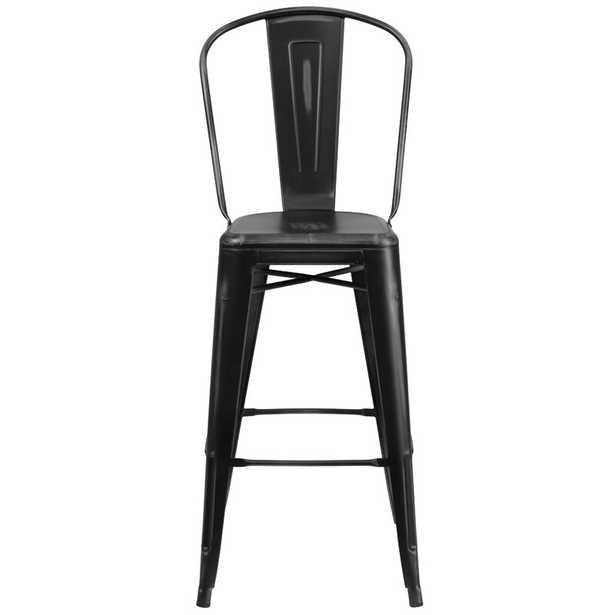 """Dovercliff  Bar Stool - 30"""" seat height - Wayfair"""