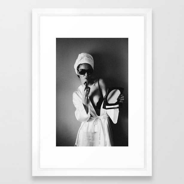Sassy Framed Art Print - Society6
