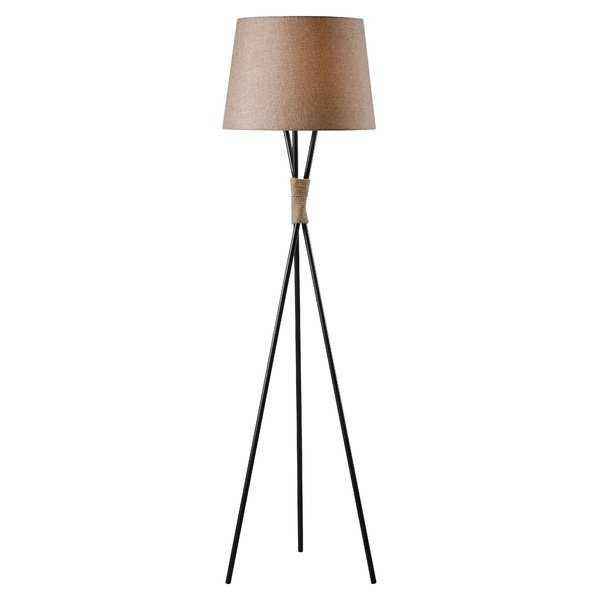 "Newnan 58.5"" Tripod Floor Lamp - Wayfair"