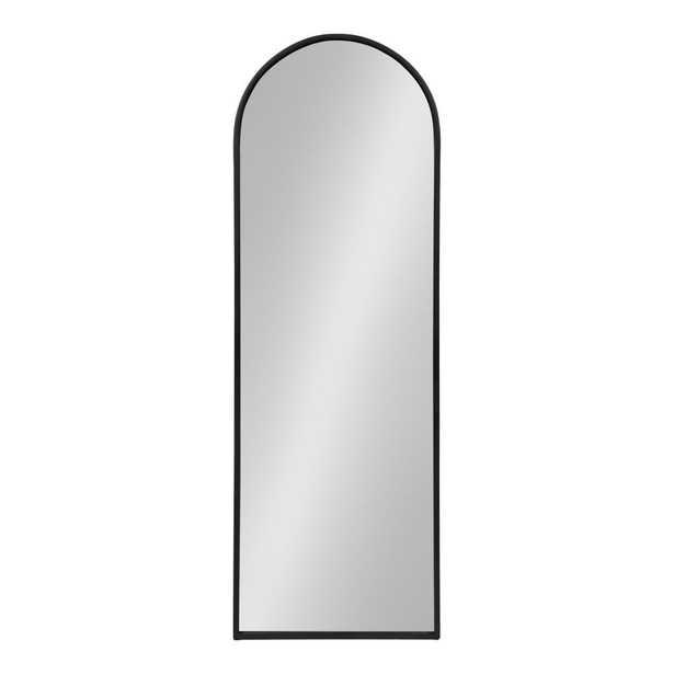 Valenti Arch Black Wall Mirror - Home Depot