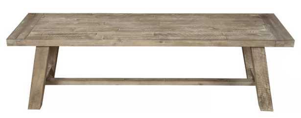 Colborne Wood Bench - Wayfair