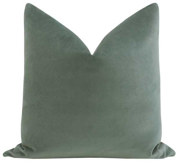 """Sonoma Velvet // Loden Frost - 20"""" X 20"""" - Little Design Company"""