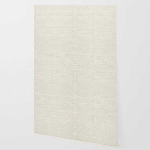 Sand Sisal Grasscloth Wallpaper, 2' x 8' - Society6