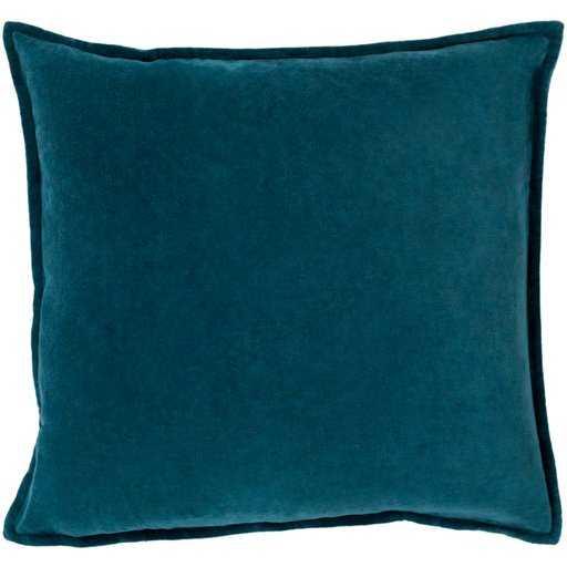Cotton Velvet : CV-004 - 20 x 20 with Polyester - Neva Home