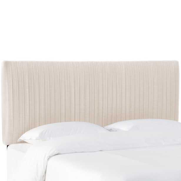 Sanford Pleated Upholstered Panel Headboard - Wayfair