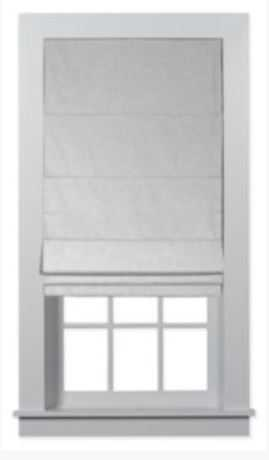 Custom Home Collection Premium Roman Shades - Gent Grastone - Home Depot