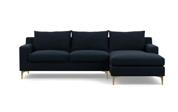 SLOAN Sectional Sofa with Right Chaise - Interior Define