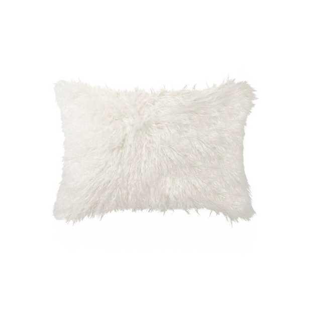 Gaetane Faux Fur Lumbar Pillow - AllModern