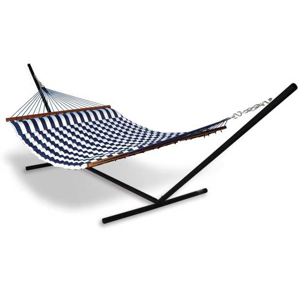 Spicer Polyester Hammock with Stand;Back in Stock Oct 6, 2020. - Birch Lane
