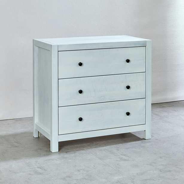 White Washed Amesfield 3 Drawer Dresser - Wayfair