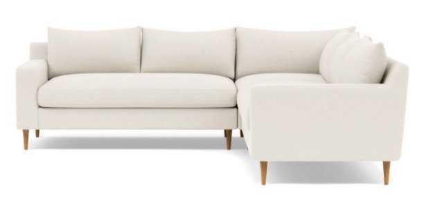 SLOAN Corner 4-Seat Sectional Sofa - Cirrus Fleck - Interior Define