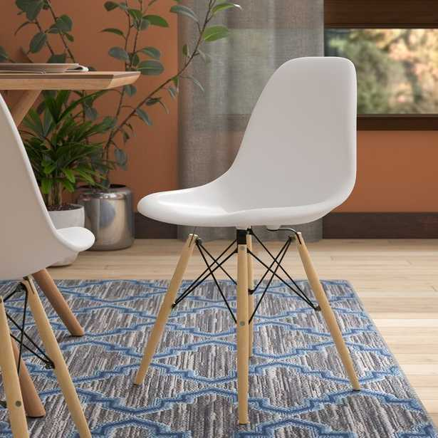 """Harrison Solid Wood Chair- white - Wayfair"
