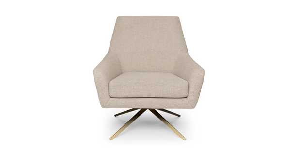 spin calcite ivory chair - Article