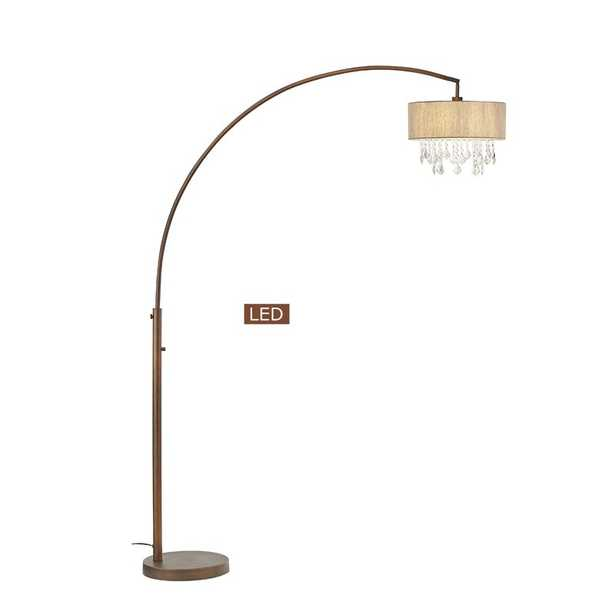 "Sigourney 81"" Arched Floor Lamp - Wayfair"