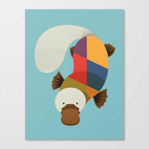 Platypus Canvas Print - Society6