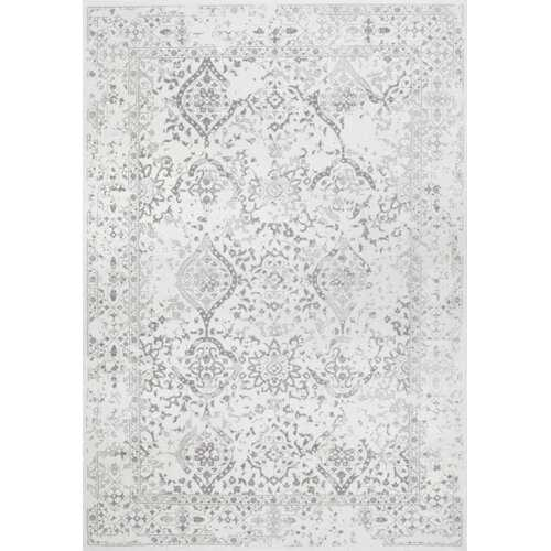 Youati Ivory/Gray Area Rug - 8'10 x 12' - Neva Home