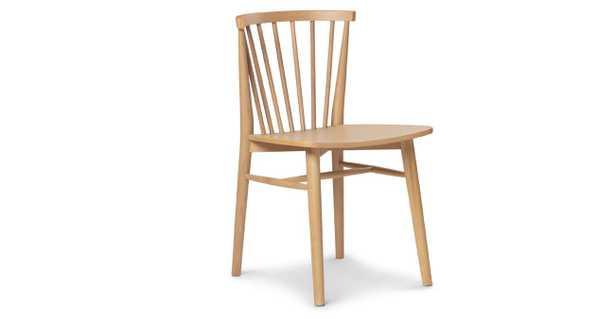 Rus Light Oak Dining Chair - Article