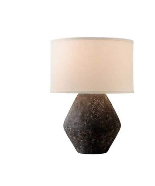 KEYANA WIDE TABLE LAMP, GRAYSTONE - Lulu and Georgia