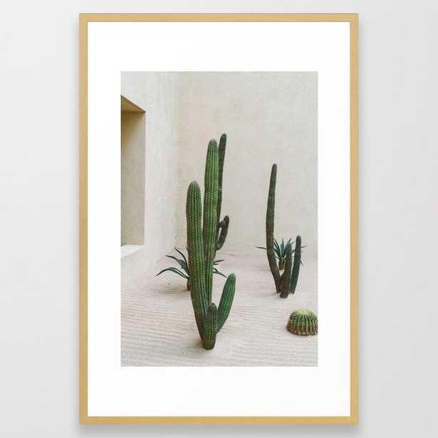 Cabo Cactus VI Framed Art Print - Society6
