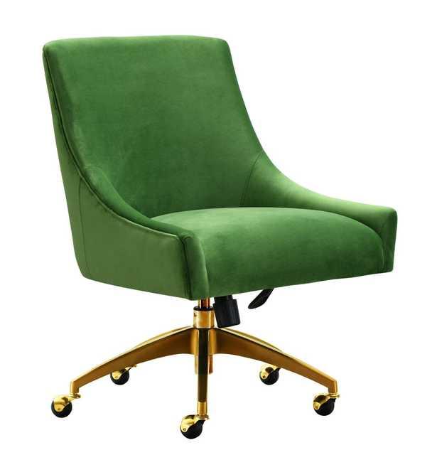 Skyler Green Office Swivel Chair - Maren Home