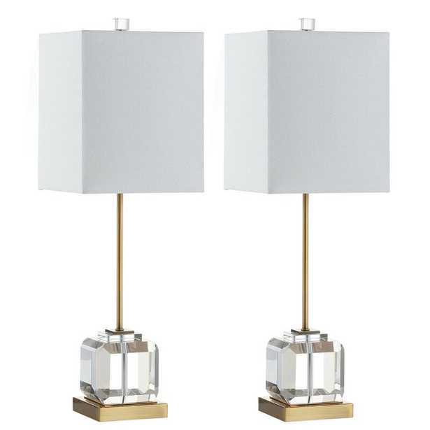"Aldridge 28"" Table Lamp Set (Set of 2) - Wayfair"