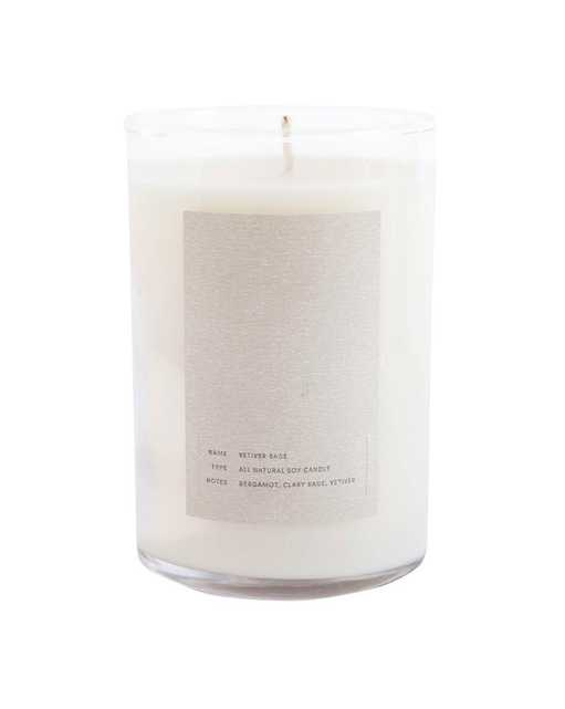 ELEMENTAL CANDLE - VETIVER SAGE - McGee & Co.