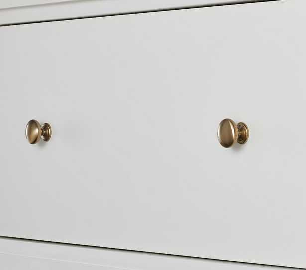 Cameron Wall System Traditional Cabinet Hardware, Brass, UPS - Pottery Barn