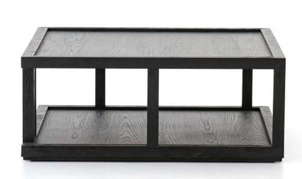 """Modern 40"""" Square Coffee Table - Pottery Barn"""