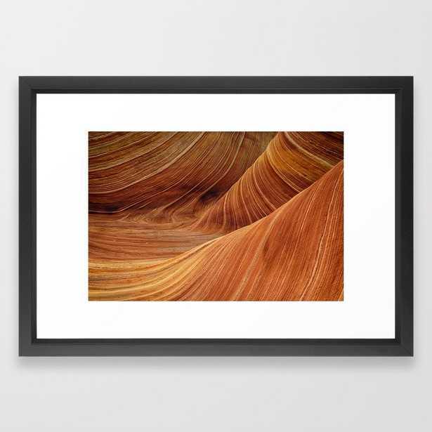Sandstone Framed Art Print - Society6