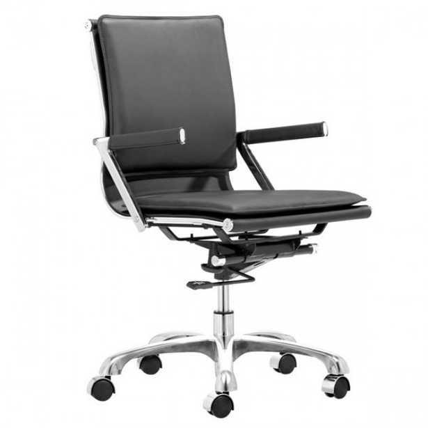 Lider Plus Office Chair Black - Zuri Studios