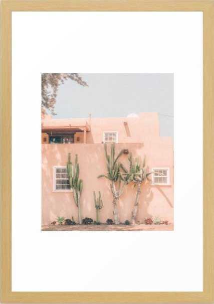 Vintage Los Angeles Framed Art Print 15x21 - Society6
