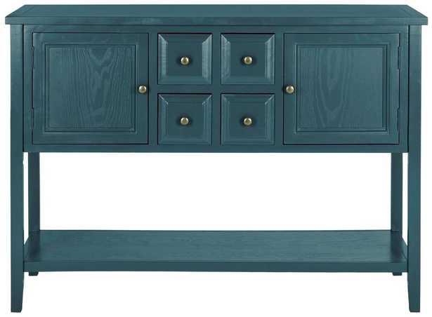 Charlotte Storage Sideboard - Slate Teal - Arlo Home - Arlo Home