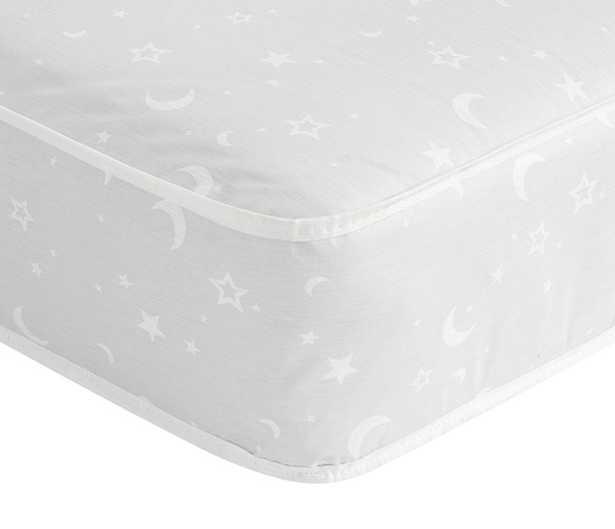 Lullaby Crib Mattress, Gray, Standard UPS Delivery - Pottery Barn Kids