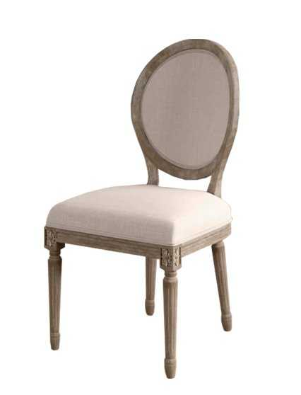 Backbeat Upholstered Side Chair in Wheat - Wayfair