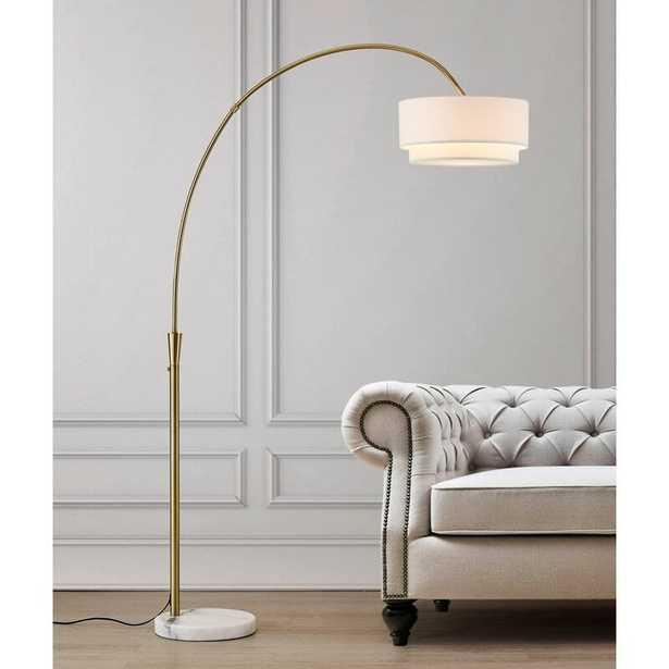 """Dina 81"""" Arched Floor Lamp - Wayfair"""