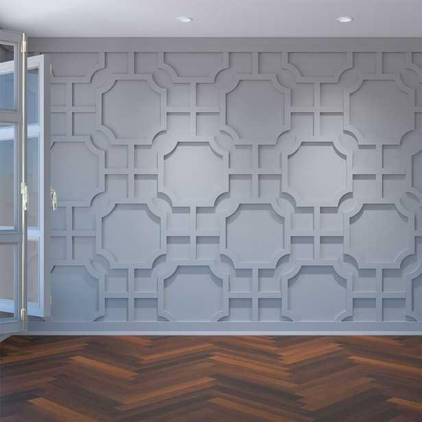 Bradley Architectural Grade PVC Decorative Fretwork Wall Panels - Wayfair