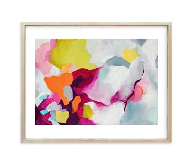 """Infusion // 10"""" x 8"""" // Matte Brass Frame // White Border - Minted"""