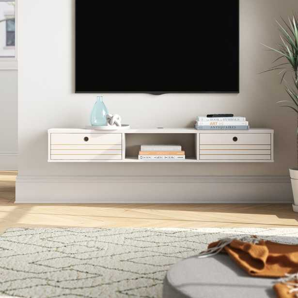 """Hayward Floating TV Stand for TVs up to 60"""" - Wayfair"""