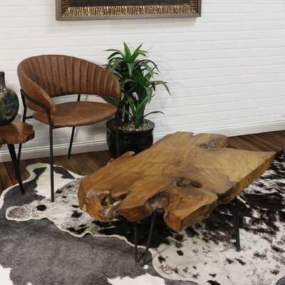 Dartmouth Carving Coffee Table - Wayfair