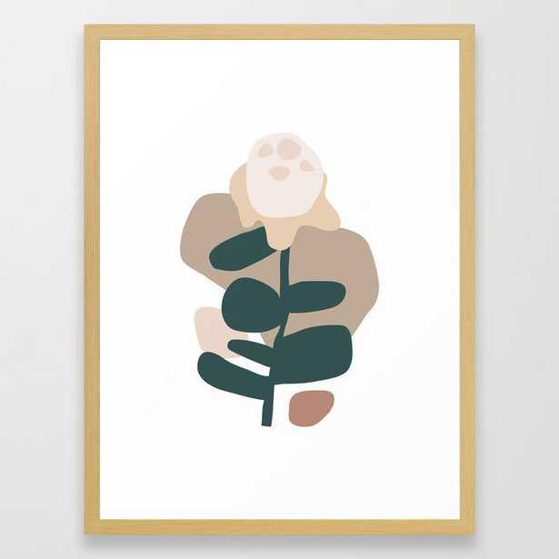 // Bloom-01 Framed Art Print by Mpgmb - Conservation Walnut - MEDIUM (Gallery)-20x26 - Society6