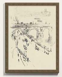 """City Scenes Art  13"""" x 10"""" - Ballard Designs PRINT I - Ballard Designs"""