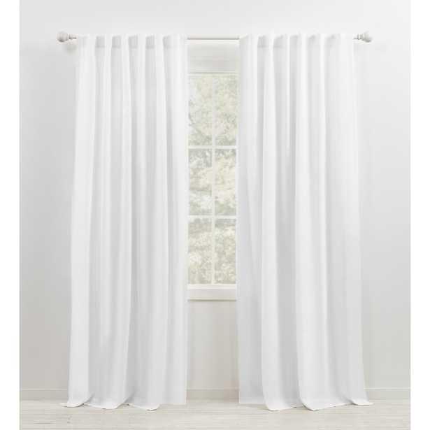 "Leanne Semi-Sheer Rod Pocket Single Curtain Panel - 50x84"" - Wayfair"