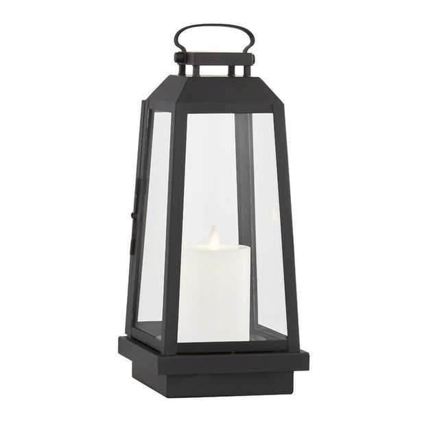 "Edgewater 14"" Battery Powered Integrated LED Outdoor Lantern - Wayfair"